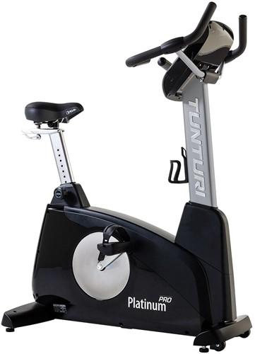 Tunturi Upright Bike Platinum PRO Hometrainer - Gratis trainingsschema - Verpakking licht beschadigd