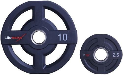 Lifemaxx Olympische Halterschijven - 50mm - 10kg