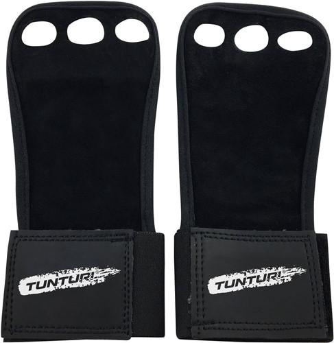 Tunturi Lederen Fitness Crossfit Handschoenen - L