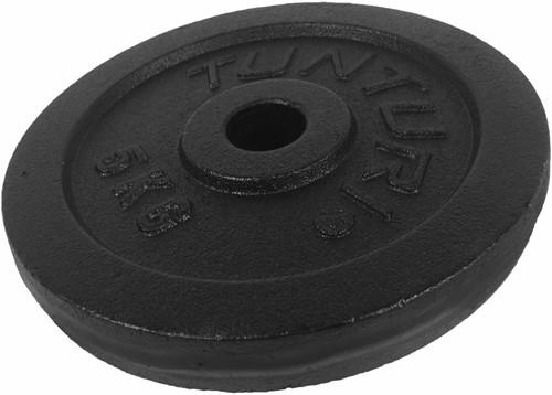 Tunturi Plate Black 5.0kg, Single
