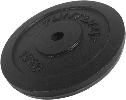 Tunturi Gietijzeren Halterschijf - 30 mm - 10 kg