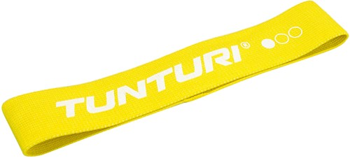 Tunturi Weerstandsband Textiel - Licht - Geel