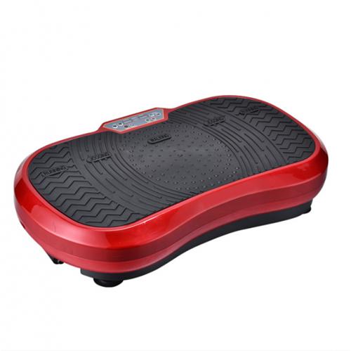 Fitness Body Vibro Power Max Fitness Trilplaat met Handvaten - Rood
