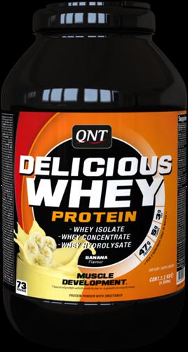 QNT Delicious Whey Protein - 2200g - Banana