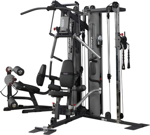 Body-Solid G10B Bi-Angular 2 Stack Multi Gym