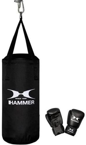 Hammer FIT Boxing Set Junior - 50 cm Bokszak + 6 oz Bokshandschoenen