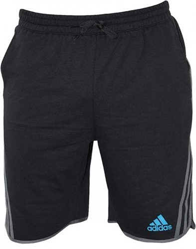 Adidas Leisure Fleece Short Beluga Zwart