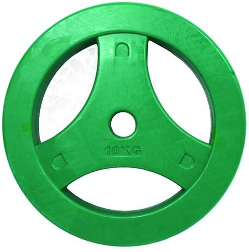 Tunturi Aerobic Schijf 10kg Rubber (30 mm)