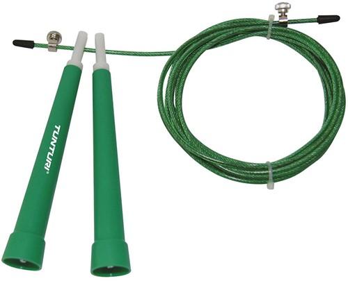 Tunturi Verstelbaar Springtouw - Groen