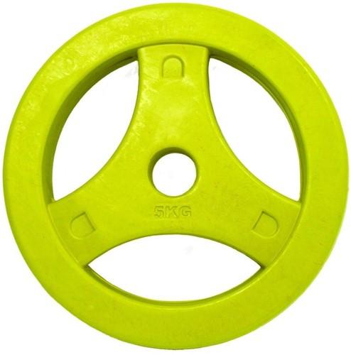 Tunturi Aerobic Schijf 5kg Rubber (30 mm)