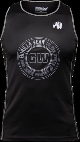 Gorilla Wear Kenwood Tank Top - Zwart/Zilver