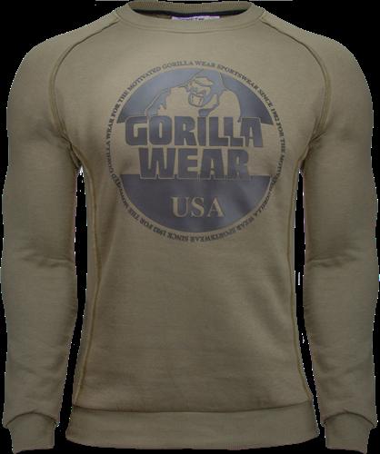 Gorilla Wear Bloomington Crewneck Sweatshirt - Legergroen