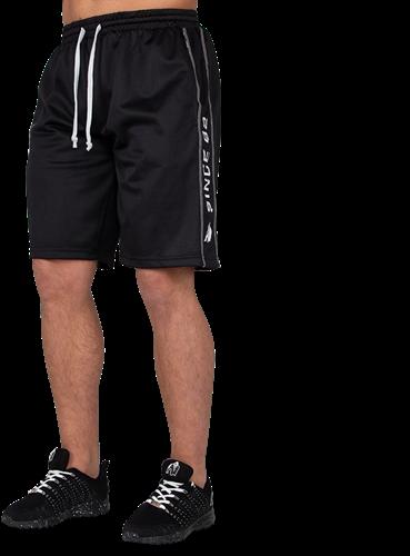 Gorilla Wear Functional Mesh Shorts - Zwart/Wit