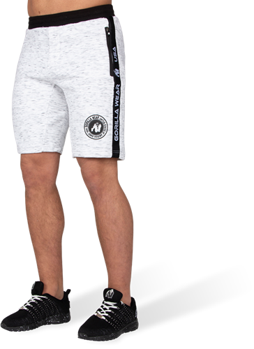 Gorilla Wear Saint Thomas Sweatshort - Mixed Grijs