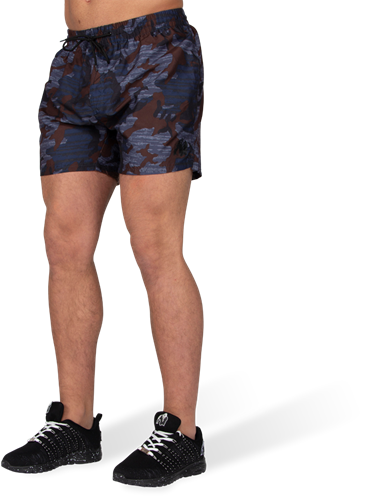 Gorilla Wear Bailey Shorts - Blauw Camo
