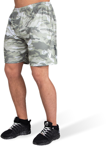 Gorilla Wear Kansas Shorts - Legergroen Camo