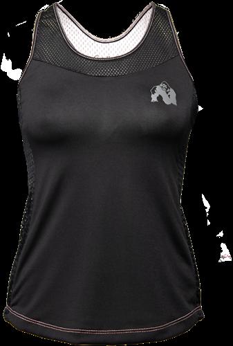 Gorilla Wear Marianna Tank Top - Zwart/ Wit