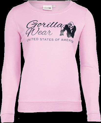 Gorilla Wear Riviera Sweatshirt - Lichtroze