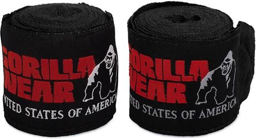 Gorilla Wear Boksbandages - Zwart