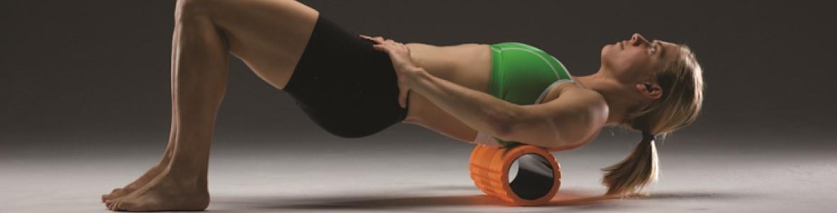 Foam roller: Zo gebruik je dat!