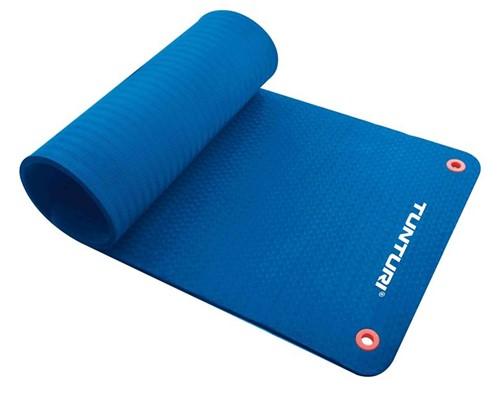 Tunturi Fitnessmat Pro 180 x 60 cm Blauw