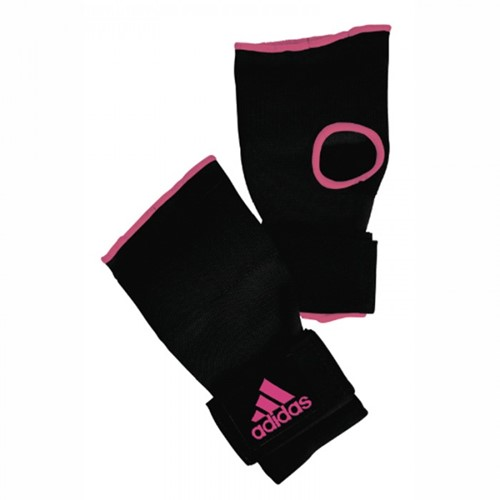 Adidas Gevoerde Binnenhandschoenen met Bandage - Zwart/Roze