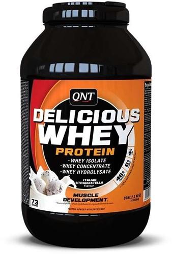 QNT Delicious Whey Protein - 2200g - Stracciatella