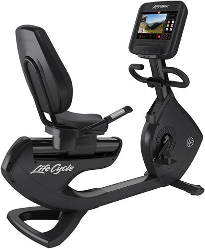 Life Fitness Platinum Discover SE3 Ligfiets - Black Onyx