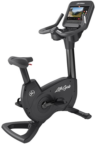 Life Fitness Platinum Discover SE3 Lifecycle Hometrainer- Black Onyx