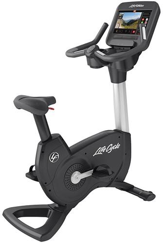 Life Fitness Platinum Discover SE3 Lifecycle Hometrainer - Diamond White