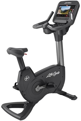 Life Fitness Platinum Discover SE3 Lifecycle Hometrainer - Titanium Storm