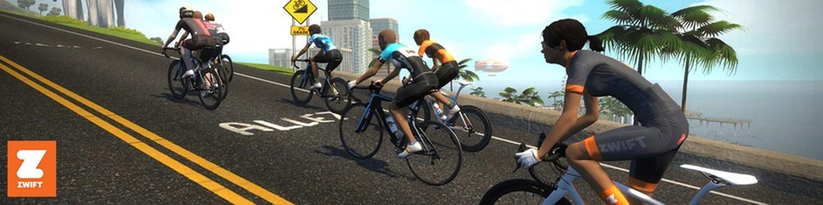 Zwift: de online indoor cycling app