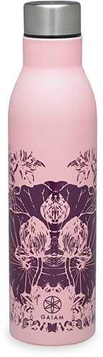 Gaiam Easy Grip Waterfles - 750 ml - Floral