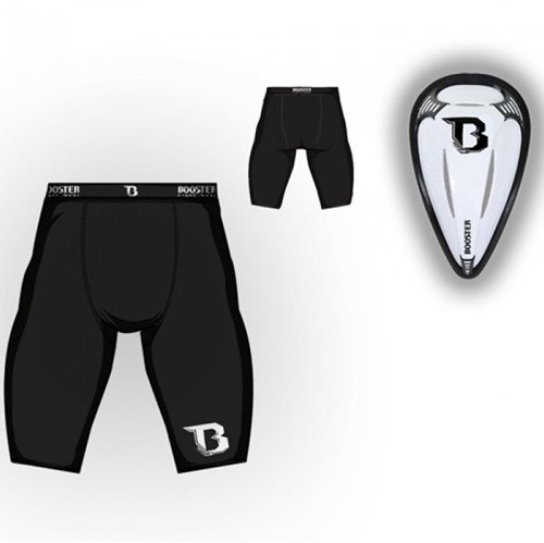 Booster G-7 compression short met cup - M