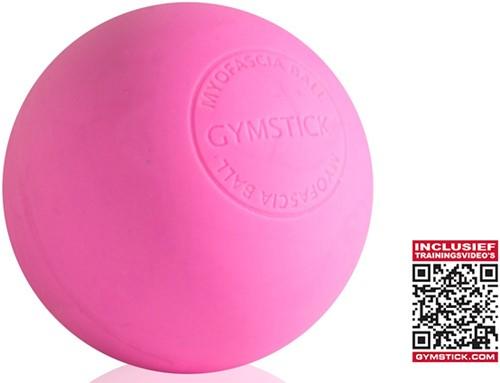 Gymstick Emotion MyoFascia Massage Bal - Pink - Met Online Trainingsvideo's