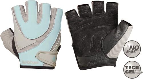 Harbinger Women's Training Grip Fitness Handschoenen - Blauw/Grijs