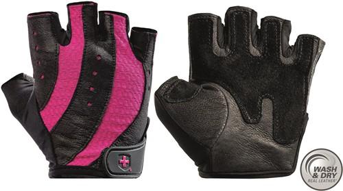 Harbinger Women's Pro Wash & Dry  Fitness Handschoenen -  Zwart/Roze
