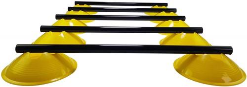 Tunturi Verstelbare Horden Set - 5 Stuks