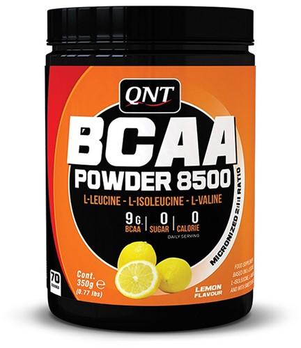 QNT BCAA Poeder 8500 - 350 gram - Lemon