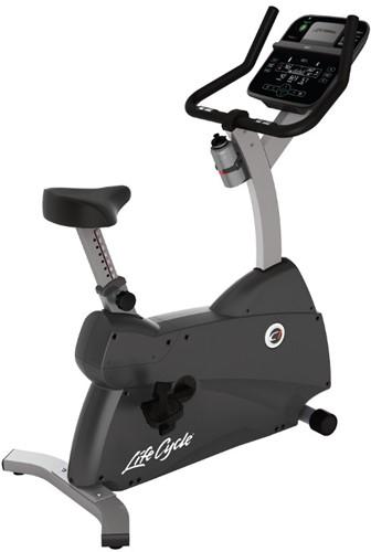 Life Fitness C1 Track Connect Hometrainer - Gebruikt