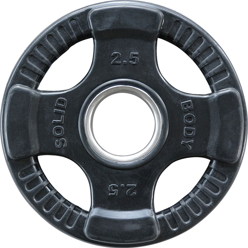 Body-Solid Olympische Rubber Halterschijf 2.50kg