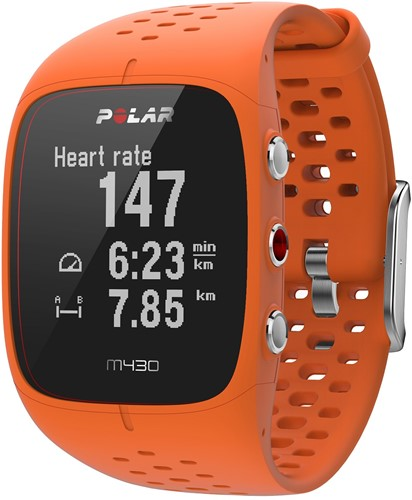 Polar M430 Sporthorloge - Oranje