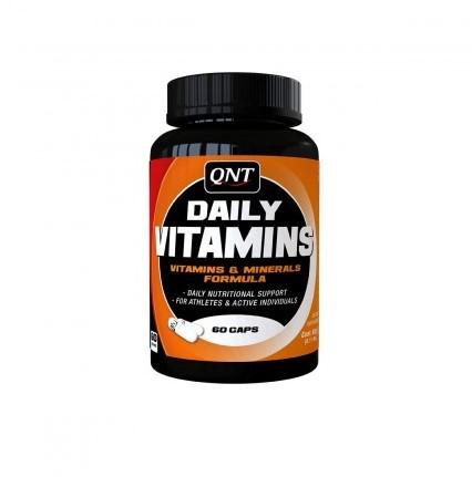 QNT Daily Vitamins 100 - 60 caps