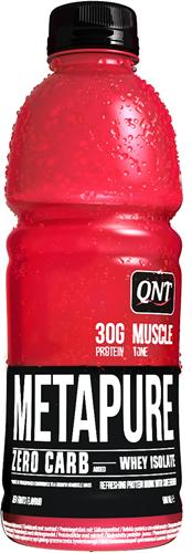 QNT Koolhydraatarm Zero Carb Metapure 32g Protein- 24x500ml