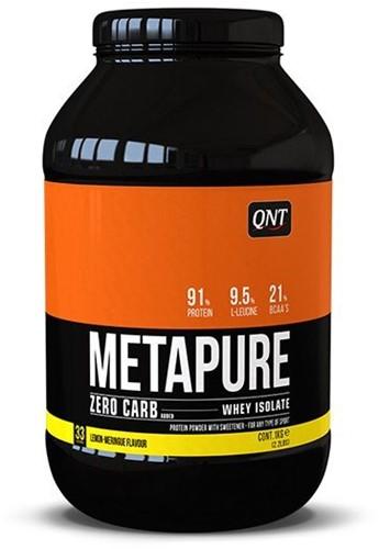 QNT Koolhydraatarm Zero Carb Metapure - 908g - Lemon Meringue