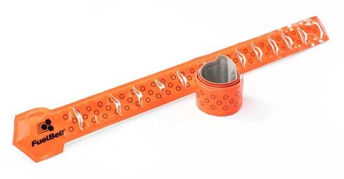 Fuelbelt Neon Snap Bands Reflectiebanden - Oranje