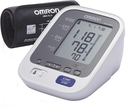 Omron M6 Comfort - Bovenarmbloeddrukmeter