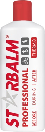 STARBALM Professional Massage Creme - 500 ml - Rood