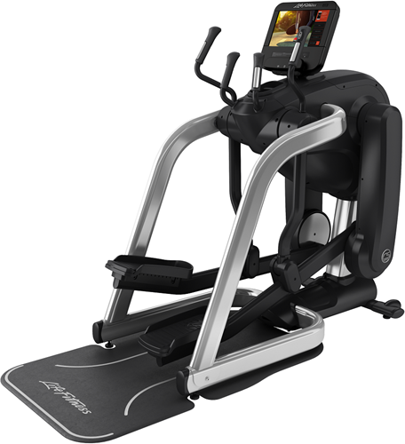 Life Fitness Platinum Club Series Discover SE3HD Flexstrider - Arctic Silver