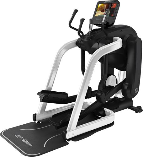 Life Fitness Platinum Club Series Discover SE3HD Flexstrider - Diamond White